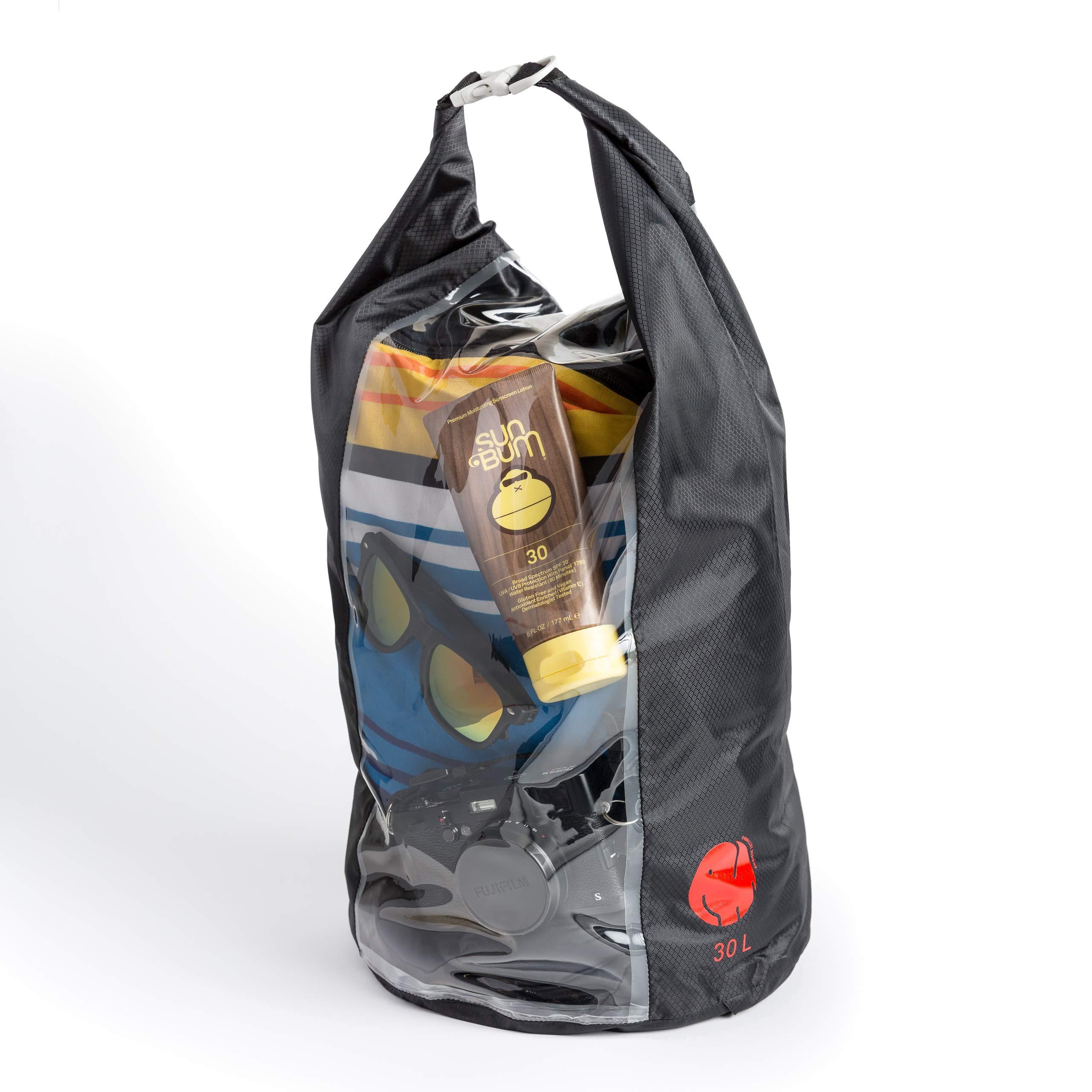 OmniCore Designs Peak-A-Boo Floating Rolltop Waterproof Dry Bag (30L) by OmniCore Designs
