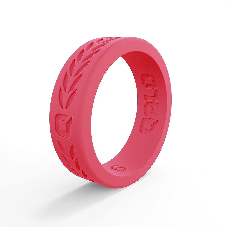 【後払い手数料無料】 QALO-レディースシリコンリング(品質は Hibiscus、陸上競技 -、愛とアウトドア)は7-18のサイズを B07BMRFL6F Laurel - - Hibiscus Pink Size 7 Size 7 Laurel - Hibiscus Pink, KAIUL:9bcefb78 --- arianechie.dominiotemporario.com