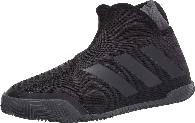 adidas Men's Stycon Laceless Clay Court Tennis Shoe