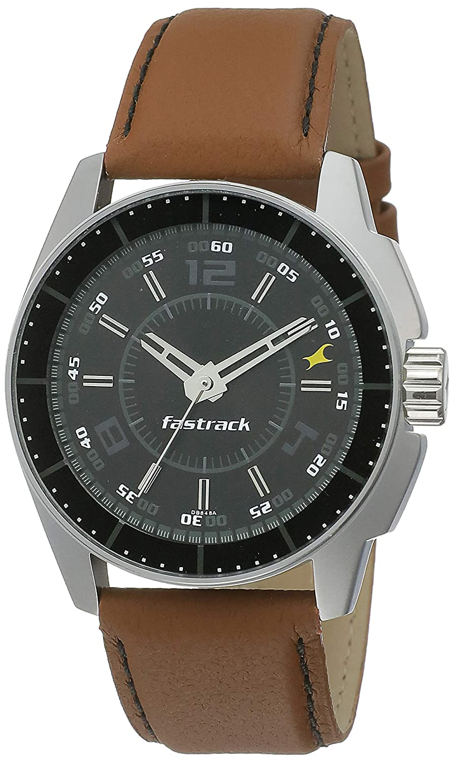 Fastrack Black Magic Analog Black Dial Best Mens Watches Under 5000 in India to buy in 2019 - Reviews & Buyers Guide