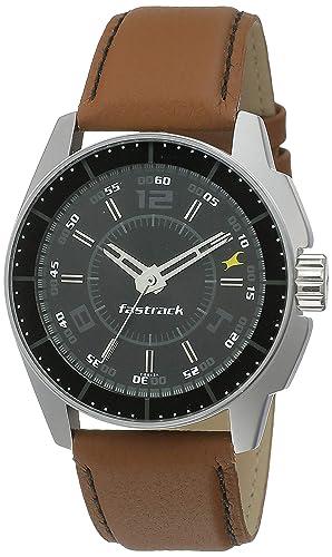 6. Fastrack Black Magic Analog Black Dial Men's Watch -NK3089SL05