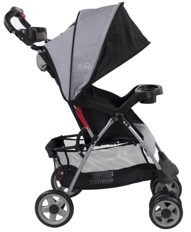 Kolcraft Cloud Plus Lightweight Stroller With 5 Point