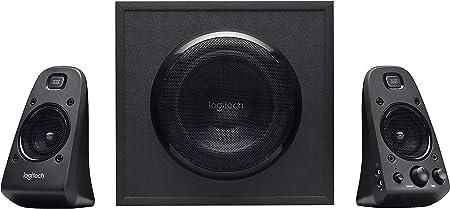 Logitech Z623 THX 2.1 Sistema de Altavoces con Subwoofer, Certificado THX Audio, 400 Vatios de Pico, Graves Potentes, Entradas de 3.5 mm/RCA, Enchufe ...