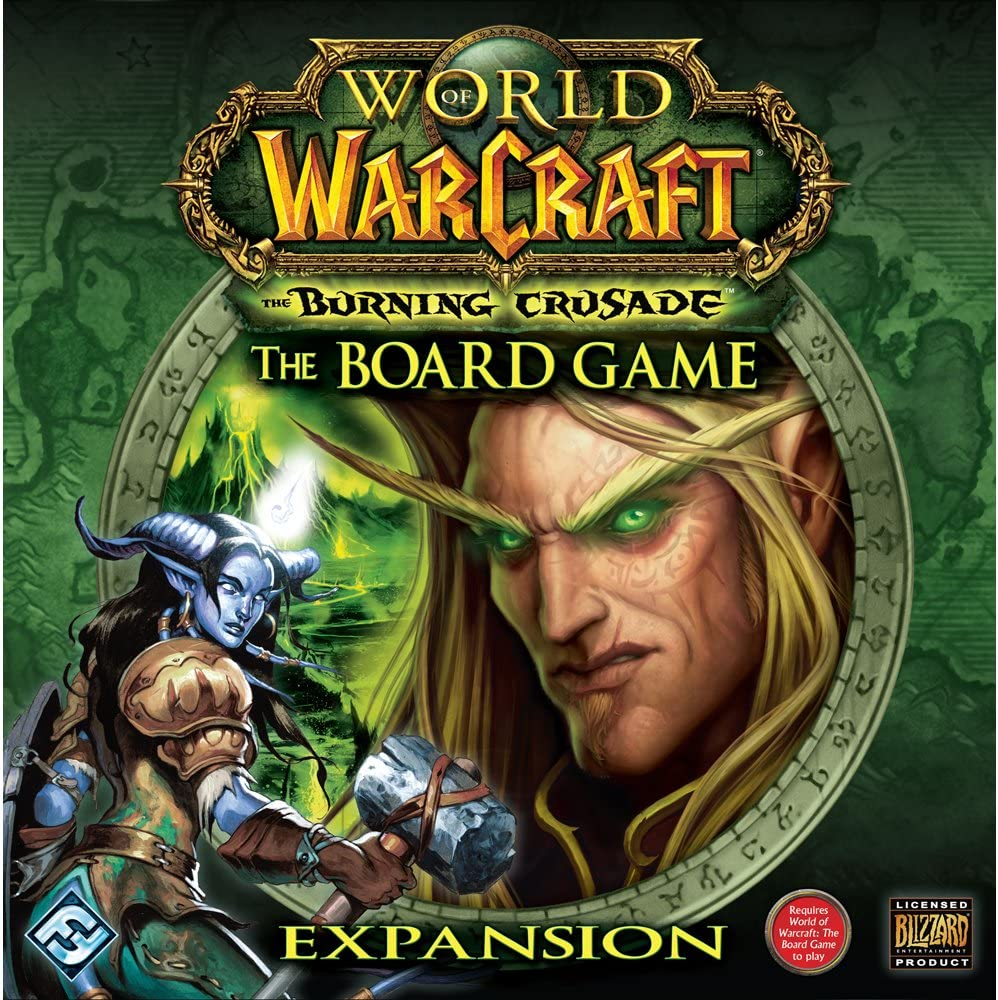 Fantasy Flight Games World of Warcraft: Burning Crusade Expansion by: Amazon.es: Juguetes y juegos