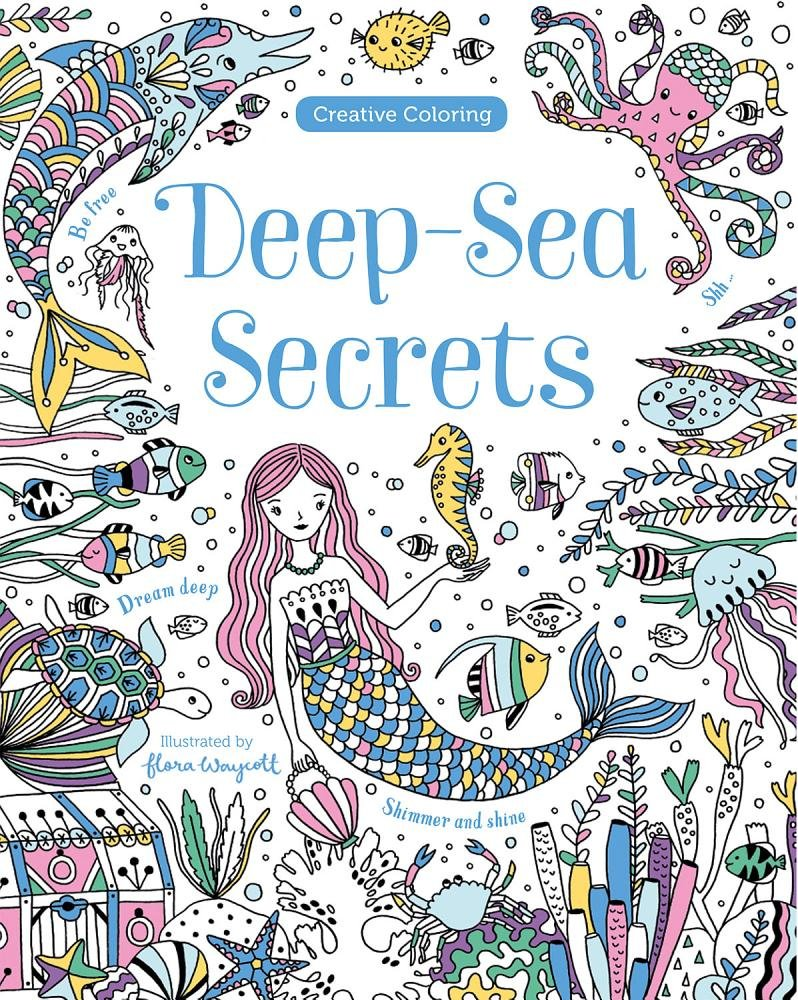 Read Online Deep-sea Secrets (Creative Coloring) pdf epub