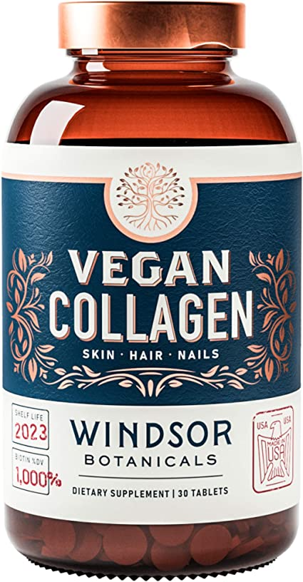 Vegan Collagen Builder Tablets
