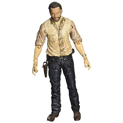 McFarlane Toys The Walking Dead TV Series 6 Rick Grimes Figure: Toys & Games