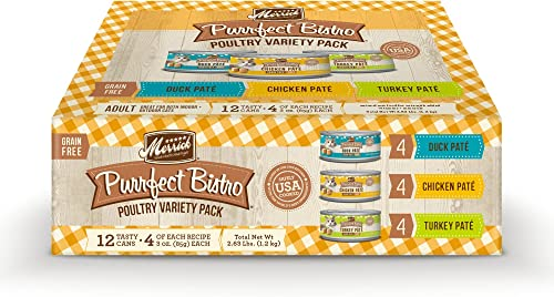 Merrick Purrfect Bistro Variety Pack Wet Cat Food
