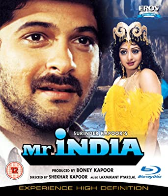 Mr India 1987 Hindi Blu Ray 2012bollywood Cinema