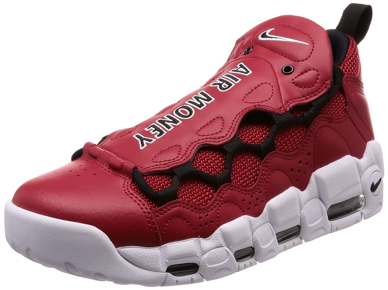 Nike Air More Money, Zapatillas de Deporte para Hombre 40.5 EU|Rojo (Gym Red/Black/White 600)