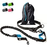 Hands-Free Dog Leash for Medium and Large Dogs – Professional Harness with Reflective Stitches for Training, Walking, Jogging