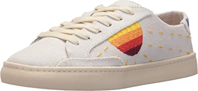 Soludos Women's Embroidered Sun Sneaker