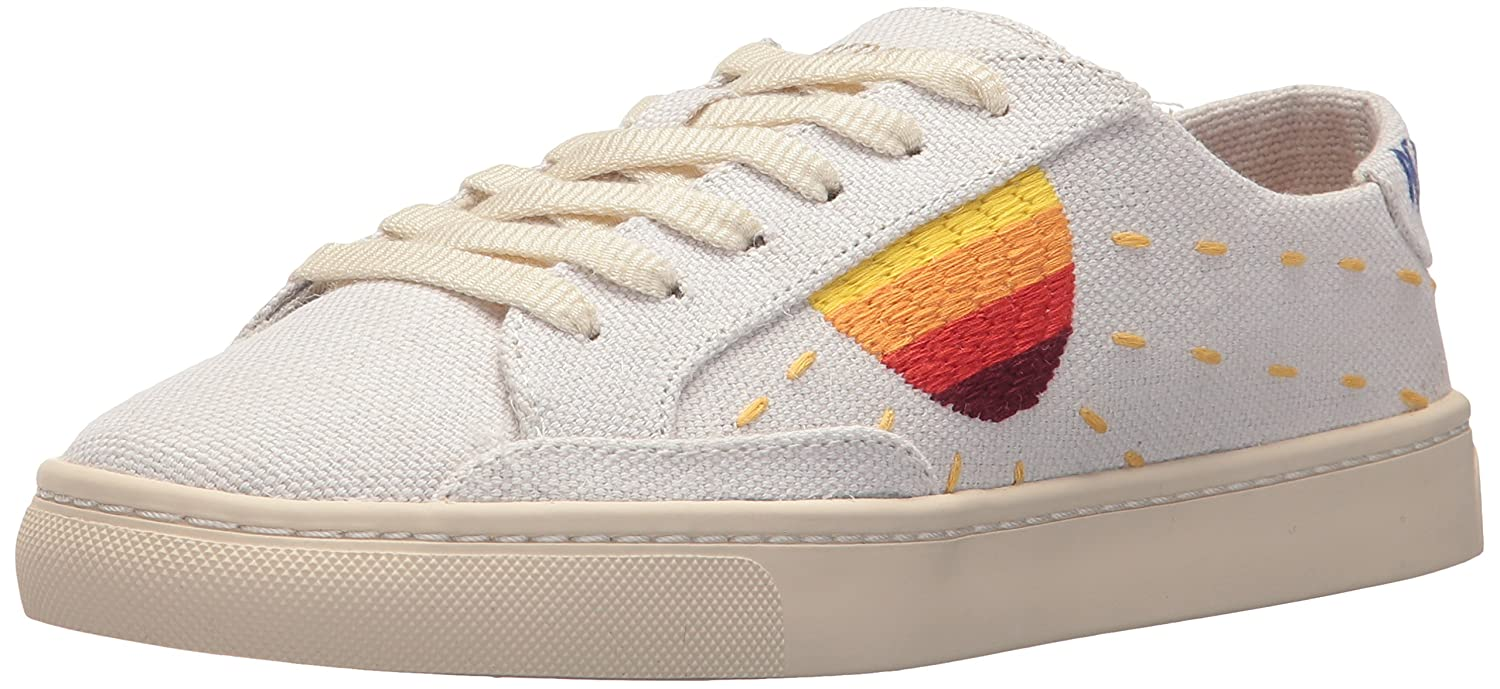 Soludos Women's Embroidered Sun Sneaker B0753J78MR 10 B(M) US|White