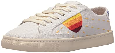 a9881d6de Soludos Women's Embroidered Sun Sneaker