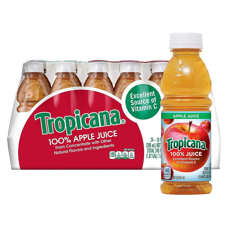 Amazon Com Tropicana Apple Juice 10 Oz 24 Count Grocery Gourmet Food