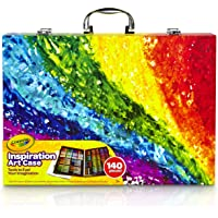 CRAYOLA 230926 Inspiration Art Case: 140 Pieces, Deluxe Set with Crayons, Pencils, Markers and Paper in a Portable…