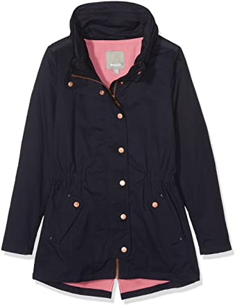Bench Special Cotton Parka, Manteau Fille, (Essentially Navy Bl11341), 140 (Taille Fabricant: 9-10)