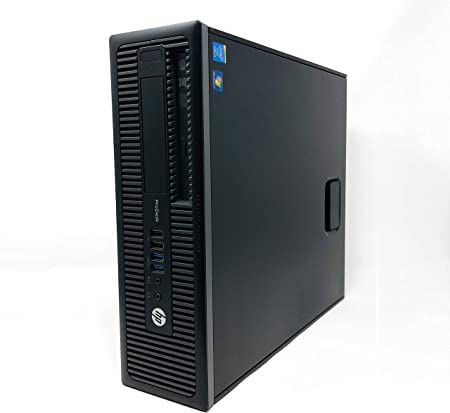 HP ProDesk 600 G1 SFF - Ordenador de sobremesa (Intel Core I5-4570 3.2 GHz, 8GB de RAM, Disco HDD 500GB, Lector DVD, Windows 10 Pro) Negro (Reacondicionado)
