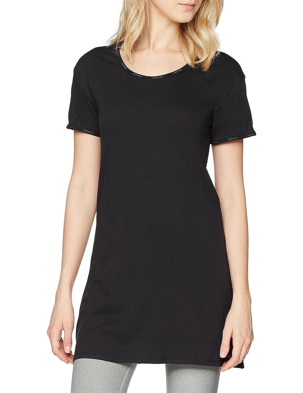 Calvin Klein S/S Nightshirt, Top Pigiama Donna 000QS6104E