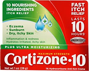 Cortizone 10 Plus Anti-Itch Cream - 1 oz