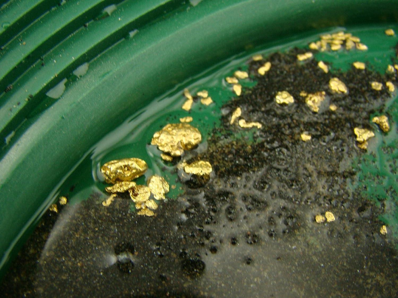 Pan it Get Good Gold Everytime 10 Lbs Yukon Gold Panning Paydirt Sluice it