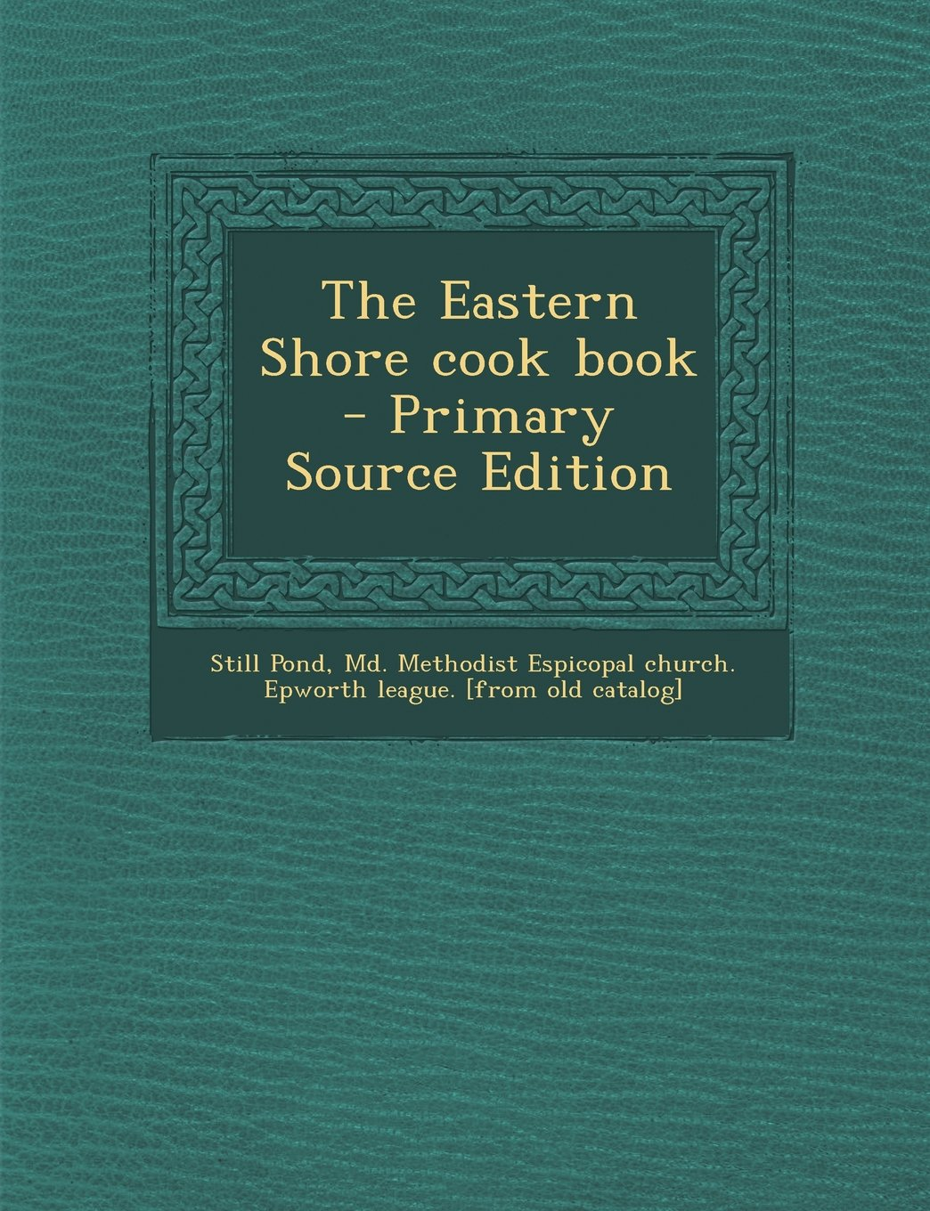 Download Eastern Shore Cook Book PDF