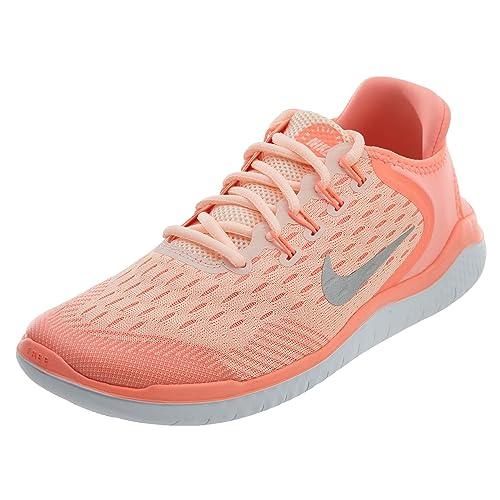 Nike Free Run 2018, Chaussures de Running Compétition Fille