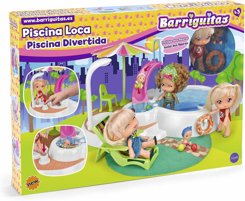 Barriguitas- Piscina, Multicolor, (Famosa 700014184)