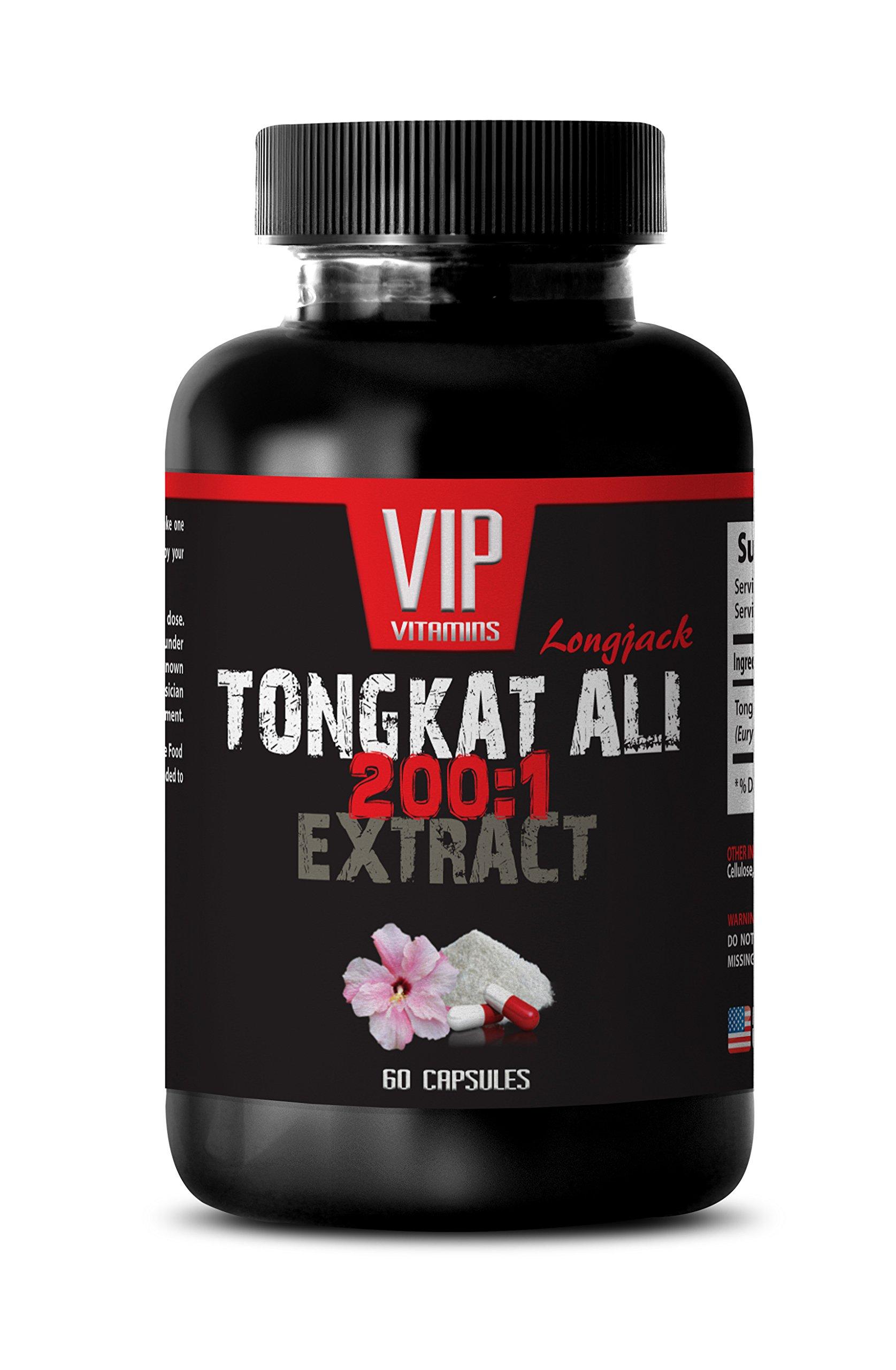 Natural male performance pills - TONGKAT ALI EXTRACT 200 TO 1 - Tongkat ali root extract - Tongkat ali supplement - 1 Bottle 60 Capsules