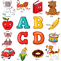 ABCD Picture Book for Kids: Learning Alphabets Made Easy (English Edition)