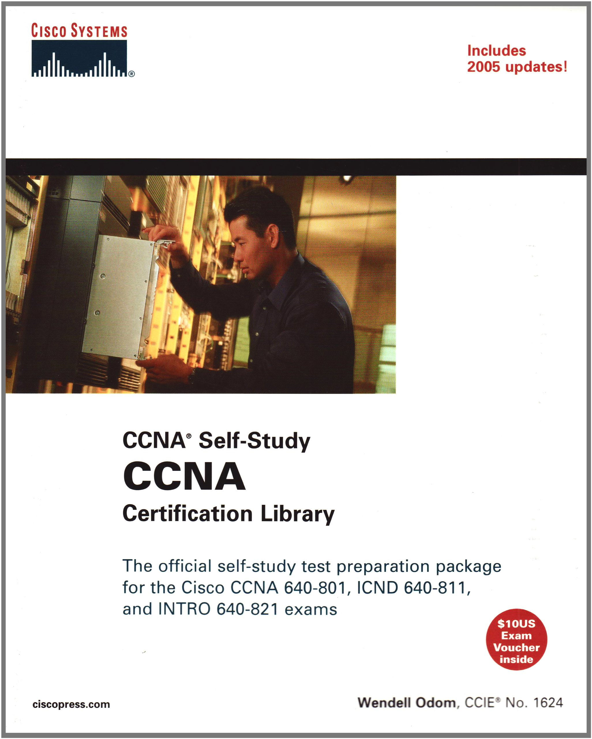 Ccna Certification Library Ccna Self Study Exam 640 801