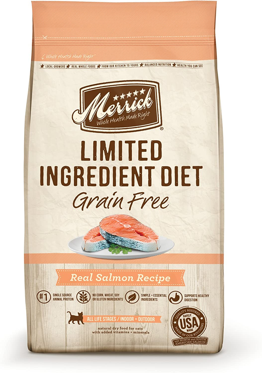 Merrick Limited Ingredient Diet Grain Free Dry Cat Food
