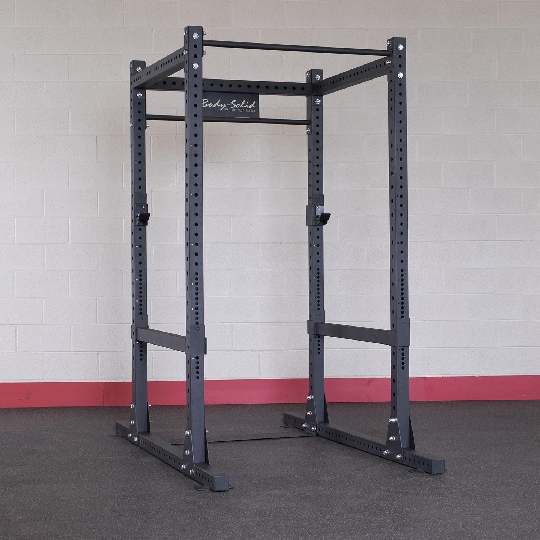 Body-Solid energía comercial Rack jaula: Amazon.es: Deportes y ...