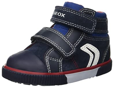 outlet store ca011 af025 Geox Kids' Kilwi Boy 22 High Top Velcro Sneaker
