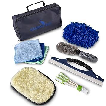 Amazon.com: Kit y bolsa de lavado de coche – Cepillo de ...