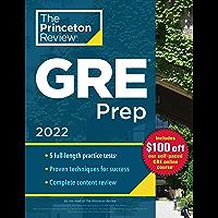 Princeton Review GRE Prep, 2022: 5 Practice Tests + Review & Techniques + Online Features (Graduate School Test…