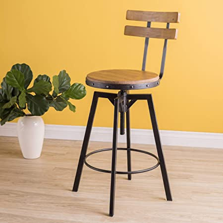Christopher Knight Home Fenix Firwood Antique Barstool