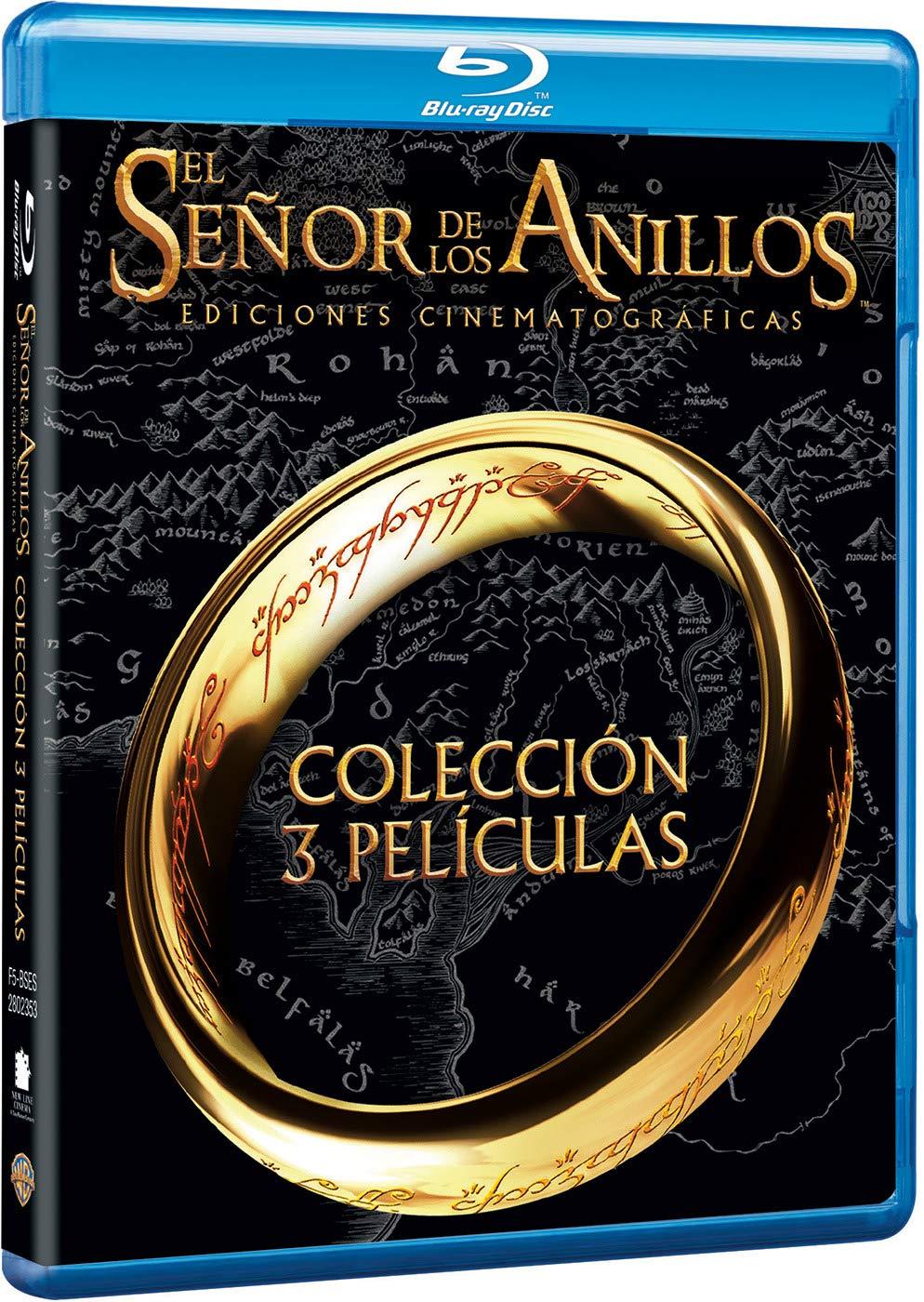 Trilogía El Señor De Los Anillos Cinematográfica Blu-Ray Blu-ray ...