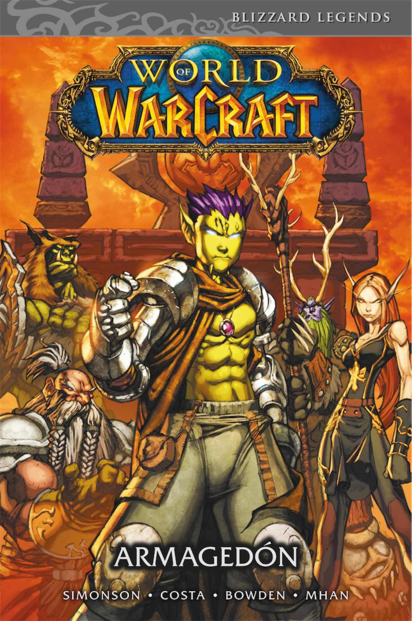 cronologia warcraft libros