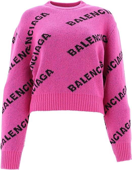 Accelerare premedicazione volontario  Balenciaga 555272T14736062 - Maglione da donna Luxury Fashion, autunno  inverno 19 Violett M: Amazon.it: Abbigliamento