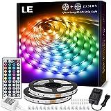 LE 65.6ft LED Lights Strip for Bedroom, Ultra-Long Led Strip Light, 600 LEDs Dimmable Color Changing Light Strip with Remote
