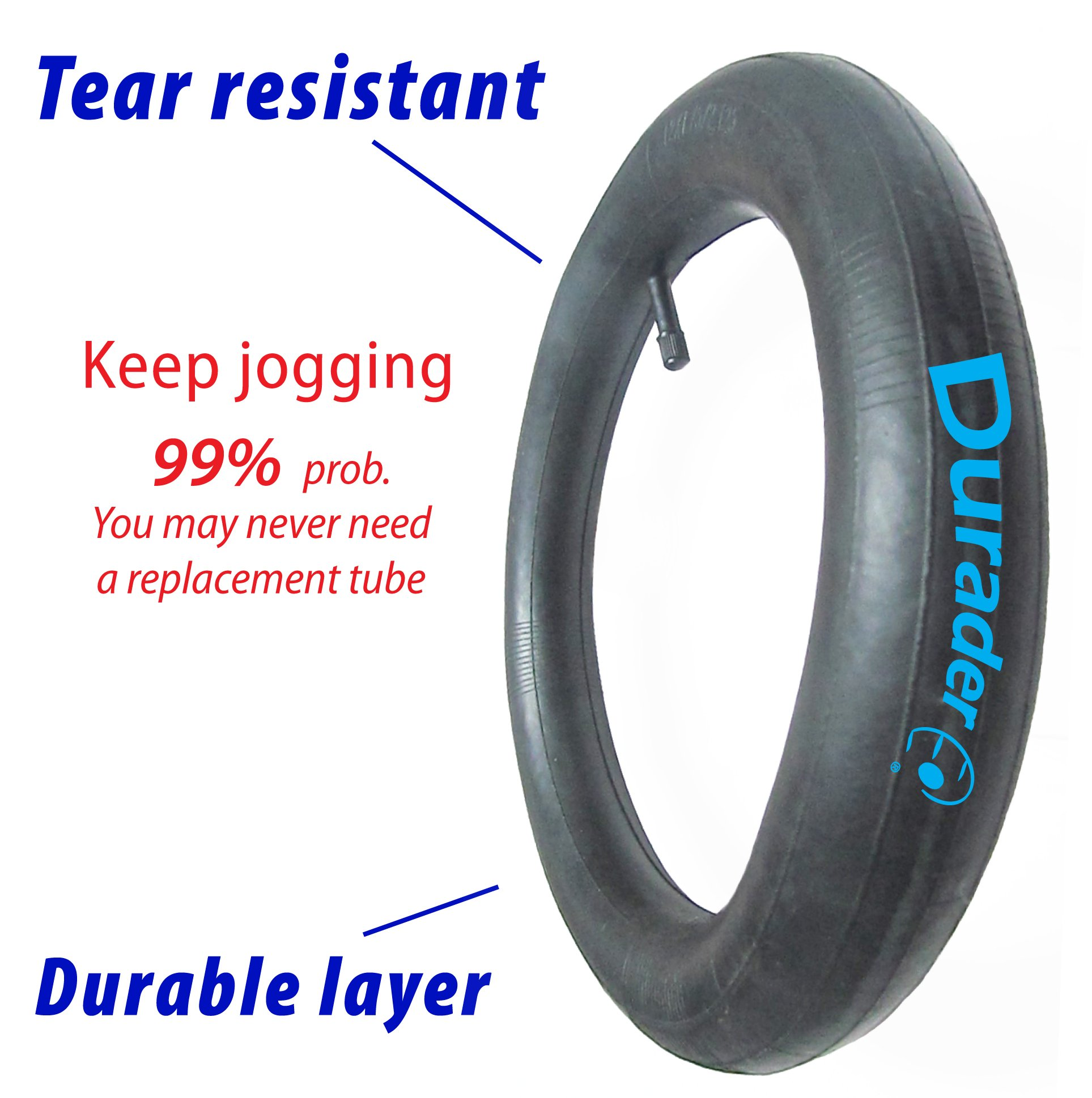 front tire & tube for Graco FastAction Jogger by Lineament (Image #3)