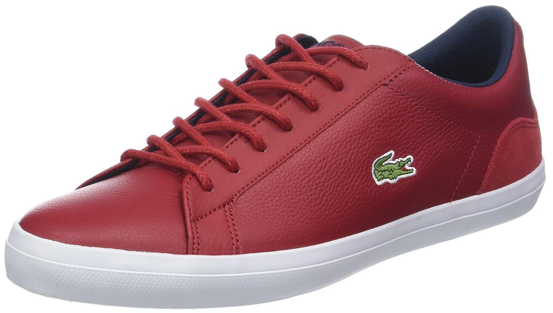 Lacoste Lerond 318 3 CAM, Zapatillas para Hombre 44.5 EU Rojo (Red/Nvy Rs7)