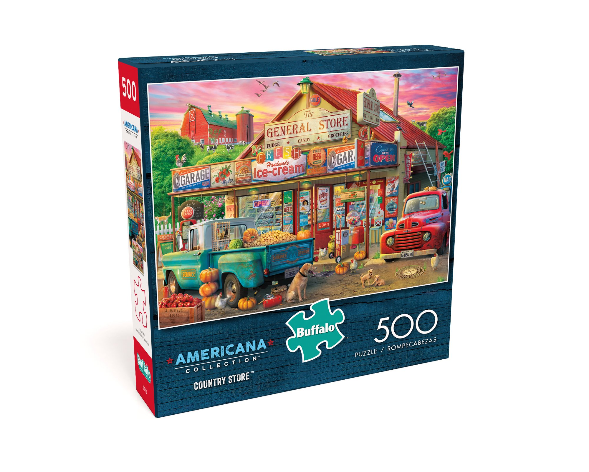 Buffalo Games - Americana Collection - Country Store - 500 Piece Jigsaw Puzzle by Buffalo Games (Image #3)