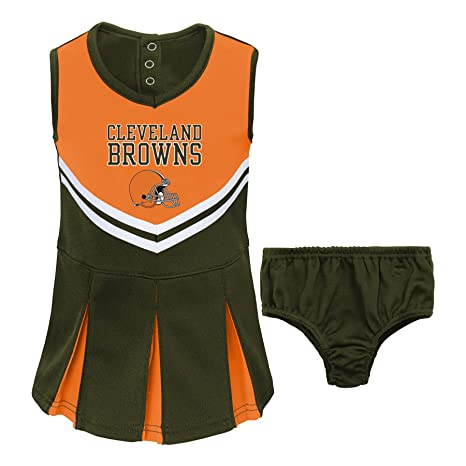 cc72347d Buy NFL Cleveland Browns Girl's Newborn Infant Two Piece Cheerleader ...