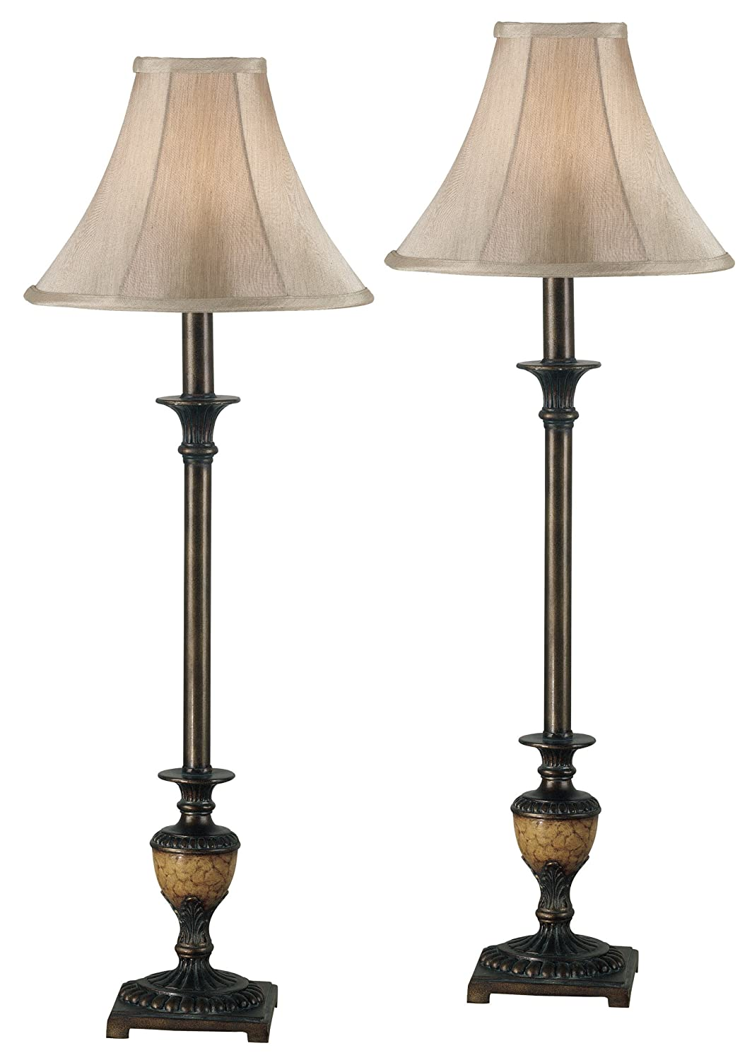 Kenroy Home 30944 Emily Buffet Lamp set of 2
