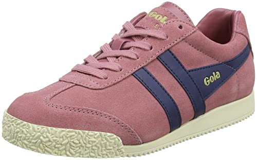 Gola Harrier Suede Dusty Rose/Navy, Zapatillas para Mujer: Amazon.es: Zapatos y complementos