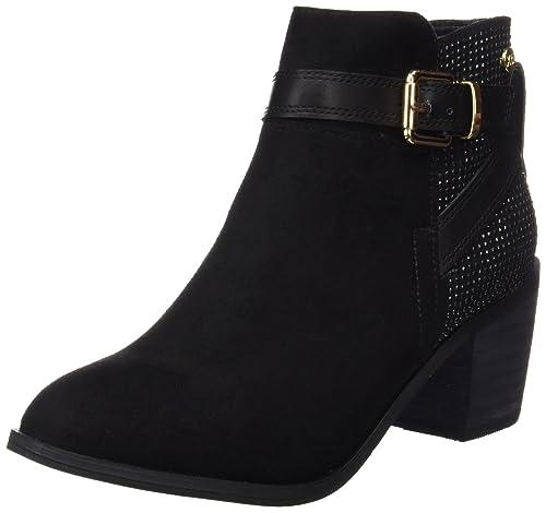 XTI 047245, Botines para Mujer, Negro (Black), 40 EU: Amazon.es: Zapatos y complementos