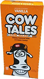 Goetze's Cow Tales Chewy Caramel With A Creme Center 36 Count 1 Ounce Pieces