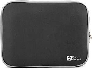 DURAGADGET Black 'Travel' Case in Shock-Absorbing & Water-Resistant Neoprene - Compatible with Acer TravelMate B117-M-C80X